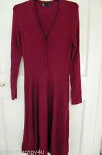 Zara Cotton Long Sleeve Dresses Midi