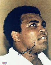 MUHAMMAD ALI - Signed Vintage photograph