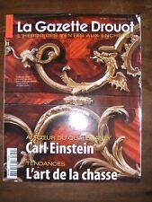 La Gazette Drouot N°39 2011 1139 Carl Einstein Art de la chasse Roxane Rodriguez