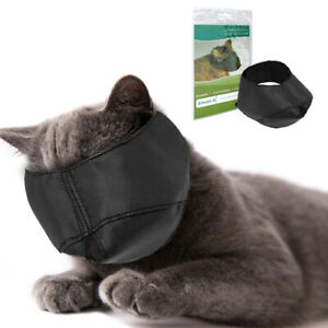 Cat Muzzle for Grooming Small Large Calm Face Muzzle Mouth-muffle Guardian Gear