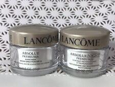 Set of Lancome Absolue Premium Day Cream SPF15 + Night Cream each 0.5oz/15g
