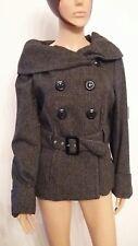 veste lainage FLEUR DE SEL majestic kelga 372 0c2 taille 42 carreaux noirs