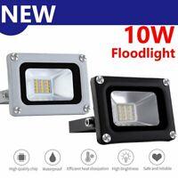 10W LED Floodlight Outdoor Yard Wall Garden Light Flood Cool White Lamp 12V IP65