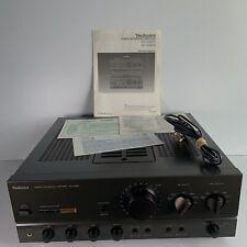 Technics SU-VX820 Stereo Integrated Amplifier Audiophile MOS Class AA w/Manual