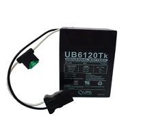 SLA/AGM Battery - UB6120 TOY - 6 Volts 12Ah -Terminal P2