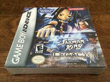 Shaman King: Legacy Of Spirits Sprinting Wolf GBA Brand New Game Boy Advance NIB