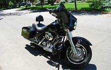 MUSTACHE ENGINE GUARD HIGHWAY CRASH BAR TOURING HARLEY ROAD KING STREET ELECTRA