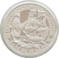 2005 Royal Mint Battle of Trafalgar Piedfort £5 Five Pound Silver Proof Coin