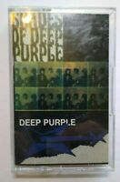 Deep Purple Shades Of Cassette Tape Album 1990 Hard Rock Psychedelic Omni
