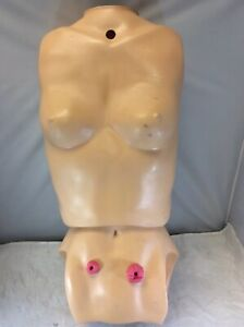 NASCO LIFE/FORM KERI TORSO -ONLY- FEMALE OSTOMY TRAINER MANIKIN