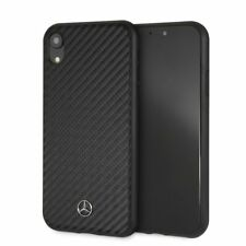 Mercedes Carbon iPhone XR SCHUTZHÜLLE Back Case Schwarz