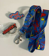 NECA Chucky Toy Capsule Collectibles Child?s Play Themed Keychain Pin Lanyard