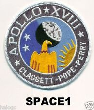 SPACE TV MINISERIES APOLLO 18 PATCH -  SPACE1