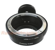 Canon FD Lens to Micro 4/3 M43 Adapter Olympus E-P5 E-MP1 E-P3 E-MP2 Tripod Ring