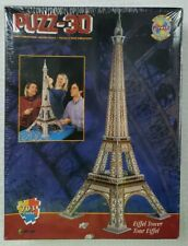 Wrebbit Puzz3D EIFFEL TOWER  703 Piece 3 Dimensional Jigsaw Puzzle