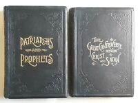 The Great Controversy Between Christ Satan Patriarchs Prophets White Rare 1890