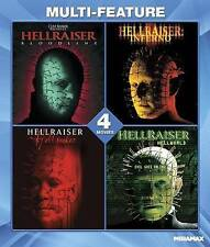 Hellraiser 4 Movie Set - Bloodline, Inferno, Hellseeker, Hellworld - NEW