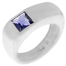 1.1cts Iolite 925 Sterling Silver Ring Jewelry s.7 R5186I-7