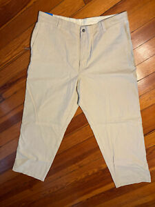 New W Tags Columbia Men's khaki Relaxed Pants 38 X 30 Omni-shade.