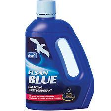 Elsan Blue Toilet Fluid Chemical Cleaner Caravan Motorhome Boat 4L Free Delivery