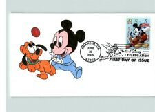 Disney, Hand Painted MICKEY MOUSE and dog PLUTO, The Art of Disney Celebration,