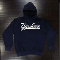 New York Yankees Hooded Sweat Shirt Cotton Hoodie Adult Sweatshirt Men NY NYY
