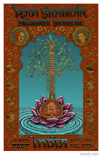 SOUGHT-AFTER! Very Rare 2009 EMEK - Ravi Shankar - Signed/Num. Concert Art Print
