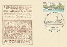 Poland postmark TCZEW - philatelic exhibition ship (analogous)