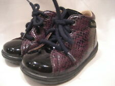 REDUCED 'FALCOTTO NATURINO' BABY LACE-UP SHOES EUR 19, 6/9 MONTHS, EXPENSIVE NEW