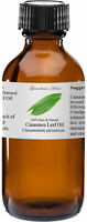 Cinnamon Leaf Essential Oil - 4 oz - 100% Pure and Natural - Free Shipping