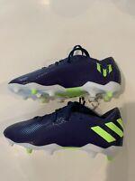 Adidas Nemeziz Messi 19.3 Firm Ground Soccer Spoke Shoes Cleats Boys  Size 1