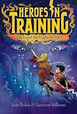 Crius and the Night of Fright (Heroes in Training)-ExLibrary