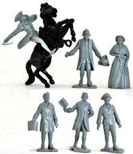 Marx Recast 1776 Johnny Tremain Characters - Disney Commemorative - colors vary