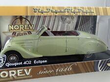 1:18 Norev  #184742 1946 Peugeot 402 Eclipse Cabriolet  weiß   -Rarität
