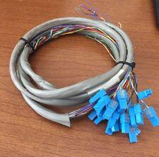 NEC Nitsuko 82492 25 Pair w/(25) DDK Connectors Cables 3-4 Feet Long Used Good