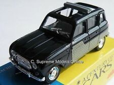 RENAULT 4L MODEL CAR 1/43RD SCALE CENTURY OF CARS PACKAGED BXD ISSUE K8967Q~#~