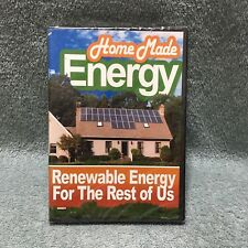 Home Made Energy Renewable Energy For The Rest Of Us DVD NEW