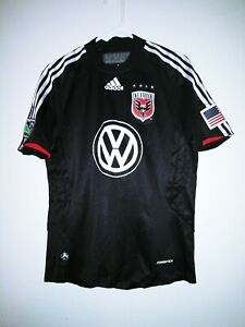 Adidas DC UNITED King#20 Mens MLS Soccer Jersey Shirt Size S Volkswagen Preowned