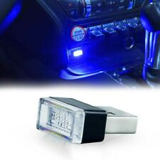 1PCS Ultra Blue USB Plug-In Miniature LED Car Interior Ambient Lighting Kit