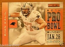 2014 Panini Rookies & Stars Pro Bowl Insert Ryan Kalil Card no PB10