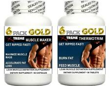 Muscle Growth Pills Bodybuilding Abs Burn Fat Loss Feed Muscle Training Aid (2)