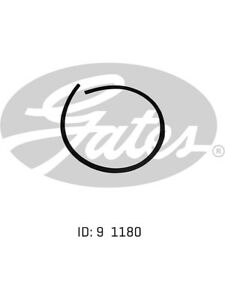 Gates Heater Hose FOR FORD FAIRMONT BF (02-1096)