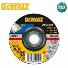 DeWalt XR 125mm x 3mm INOX Stainless Steel Metal Grinding Disc Flex Volt