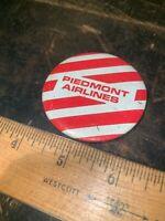 Piedmont Airlines Button Pin Vintage