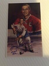 Jean Beliveau autographed 1994 Hall of Fame Card #46