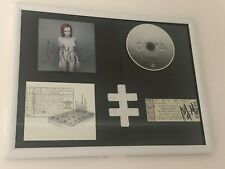 Marilyn Manson - Personally  Double Signed Mechanical Animals/Ticket CD Frame!!