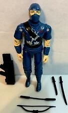 Black Major Custom GI Joe - COBRA Custom Blue Storm Shadow Red Logo Plus Bonus