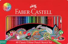 Pencils Coloured Faber-Castell Classic Creative Tin Pk48