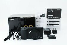RICOH GR 16.2MP Digital Compact Camera Black AF 18.3mm F2.8 Box [Exc+++]687A1022