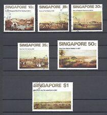 SINGAPORE 1971 165/70 USED Cat £42